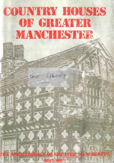 Click to enlarge Image of Country Houses of Greater Manchester publication